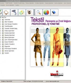 MacTex Tekstil Yazılımı Ekran Görüntüleri - 1