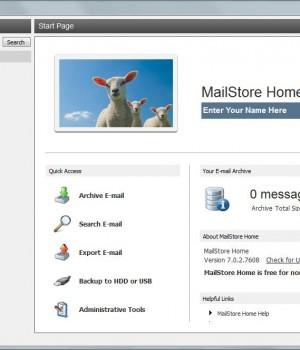 MailStore Home Ekran Görüntüleri - 2