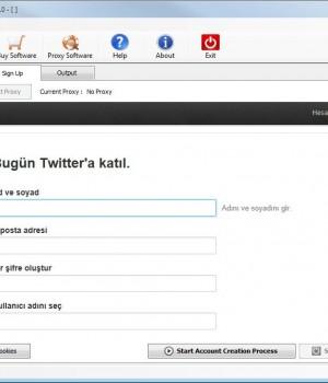MASS Twitter Account Creator Ekran Görüntüleri - 2
