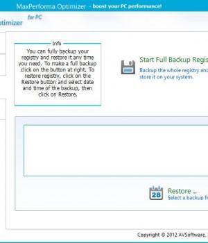 MaxPerforma Optimizer Ekran Görüntüleri - 4