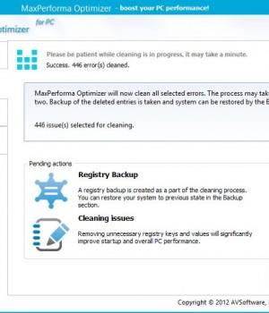MaxPerforma Optimizer Ekran Görüntüleri - 1