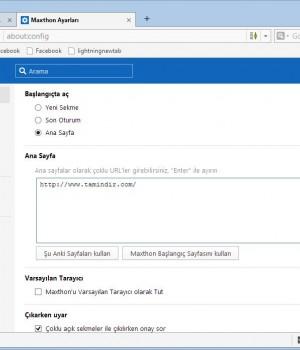 Maxthon Cloud Browser Ekran Görüntüleri - 1