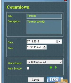 Media Freeware Free Countdown Timer Ekran Görüntüleri - 4