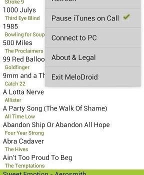 MeloDroid iTunes Sync & Remote Ekran Görüntüleri - 3