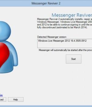 Messenger Reviver Ekran Görüntüleri - 1