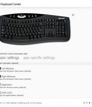 Microsoft Mouse and Keyboard Center Ekran Görüntüleri - 1