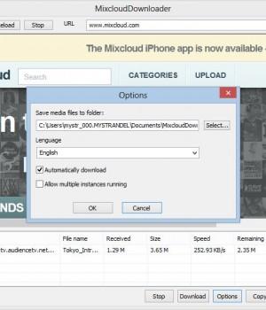 Mixcloud Downloader Ekran Görüntüleri - 1