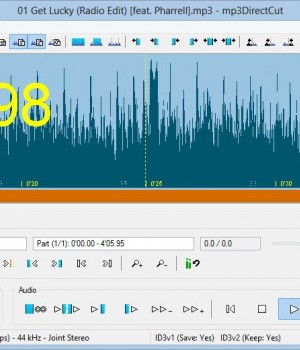 mp3DirectCut Ekran Görüntüleri - 1