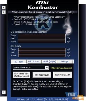 MSI Kombustor Ekran Görüntüleri - 4