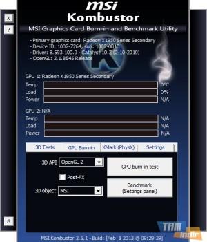 MSI Kombustor Ekran Görüntüleri - 3