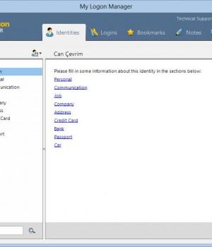 My Logon Manager Ekran Görüntüleri - 5