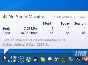 NetSpeedMonitor Ekran Görüntüleri - 2