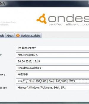 Ondeso SystemInfo Ekran Görüntüleri - 1