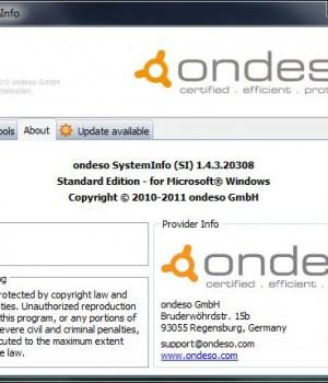 Ondeso SystemInfo Ekran Görüntüleri - 2