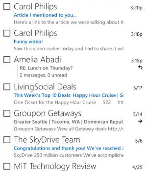 Outlook.com Ekran Görüntüleri - 5