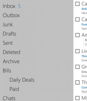 Outlook.com Ekran Görüntüleri - 2