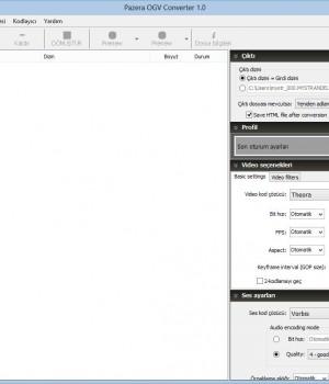 Pazera OGV Converter Ekran Görüntüleri - 4