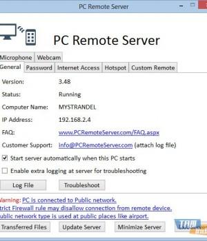 PC Remote Server Ekran Görüntüleri - 1