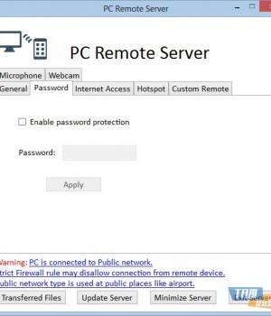 PC Remote Server Ekran Görüntüleri - 2