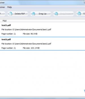 PDF Splitter Joiner Ekran Görüntüleri - 1