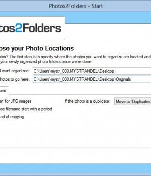Photos2Folders Ekran Görüntüleri - 1