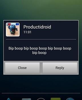 Popup Notifier Ekran Görüntüleri - 1