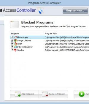 Program Access Controller Ekran Görüntüleri - 1