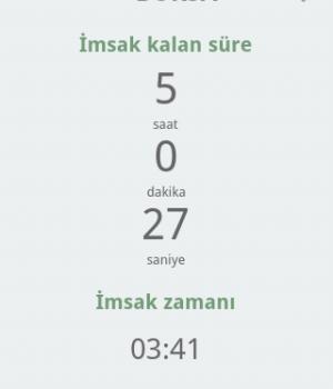 Ramazan İmsakiyesi 2013 Ekran Görüntüleri - 3