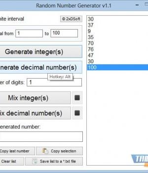 Random Number Generator Ekran Görüntüleri - 3