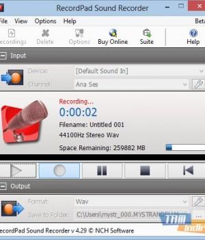 RecordPad Sound Recorder Ekran Görüntüleri - 3