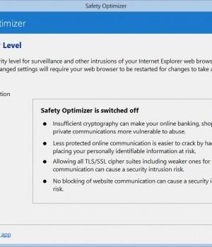 Safety Optimizer Ekran Görüntüleri - 3