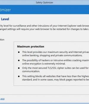 Safety Optimizer Ekran Görüntüleri - 1