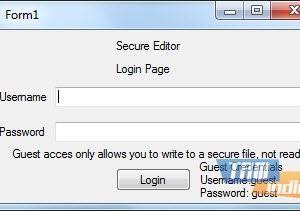 Secure Editor Ekran Görüntüleri - 1