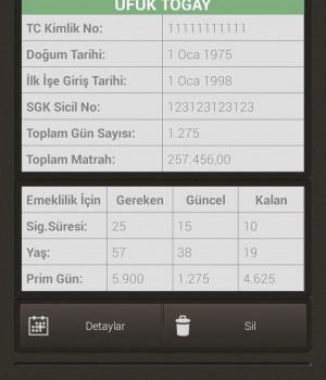 SGK Emeklilik Hesaplama İşlemi Ekran Görüntüleri - 4