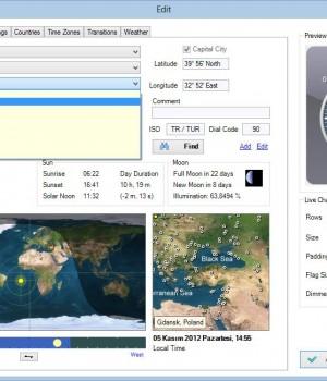 Sharp World Clock Ekran Görüntüleri - 1