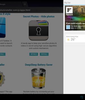 Sidebar Plus (Multi-bars) Ekran Görüntüleri - 2