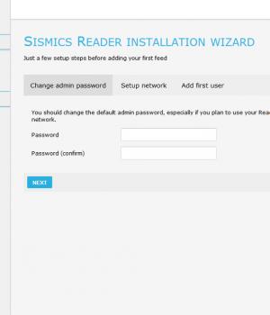 Sismics Reader Ekran Görüntüleri - 1