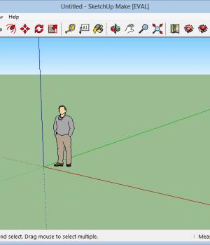 SketchUp Make Ekran Görüntüleri - 4