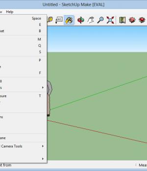 SketchUp Make Ekran Görüntüleri - 1