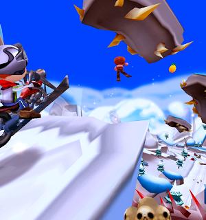Skiing Fred Ekran Görüntüleri - 1