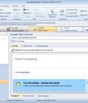 SmartSerialMail Freeware Ekran Görüntüleri - 3