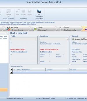 SmartSerialMail Freeware Ekran Görüntüleri - 1