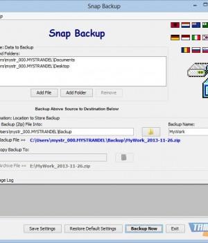 Snap Backup Ekran Görüntüleri - 1