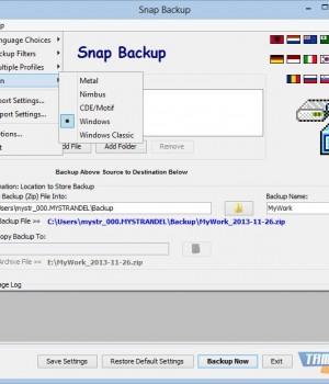 Snap Backup Ekran Görüntüleri - 2