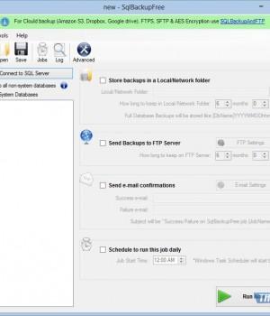 SqlBackupFree Ekran Görüntüleri - 1