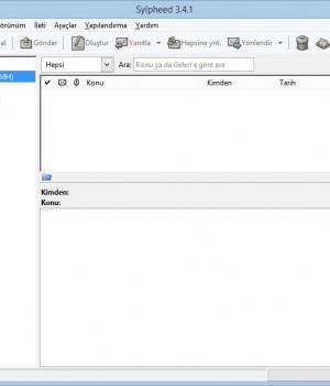Sylpheed Ekran Görüntüleri - 2