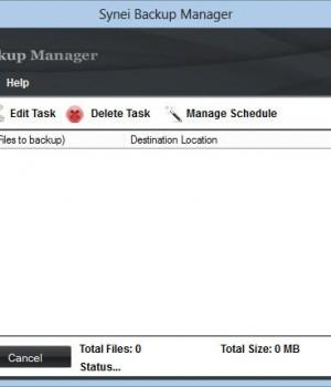 Synei Backup Manager Ekran Görüntüleri - 4