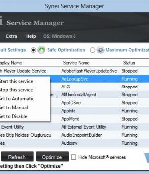 Synei Service Manager Ekran Görüntüleri - 1