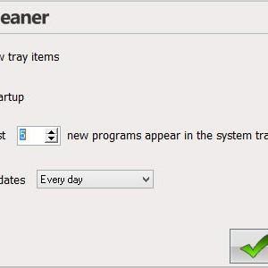 System Tray Cleaner Ekran Görüntüleri - 1