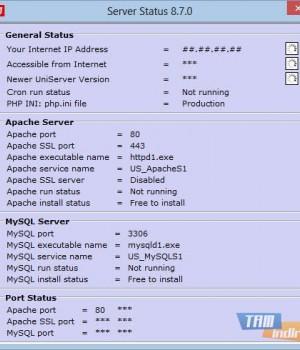The Uniform Server Ekran Görüntüleri - 2